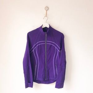 Lululemon Define Full Zip Jacket Lolo Purple 10